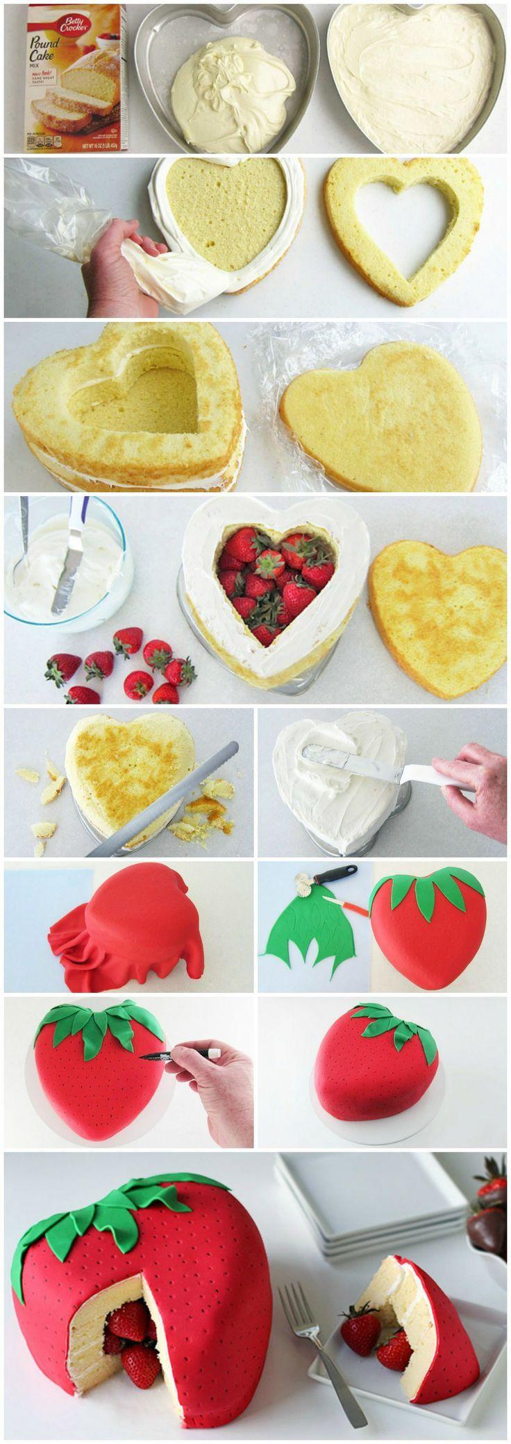 9 Photos of DIY Heart Shaped Cakes Pinterest