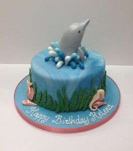 6 Photos of Dolphin Sea Animal Cakes