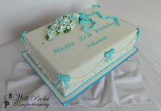 Elegant 70th Birthday Cakes