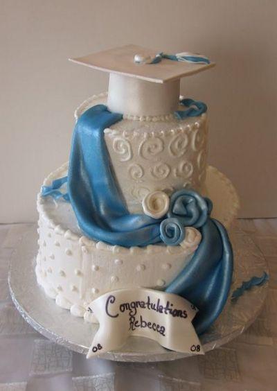 Elegant Graduation Cakes