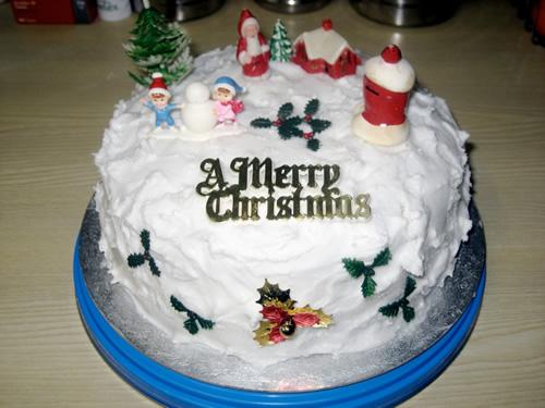 England Traditional Christmas Cake