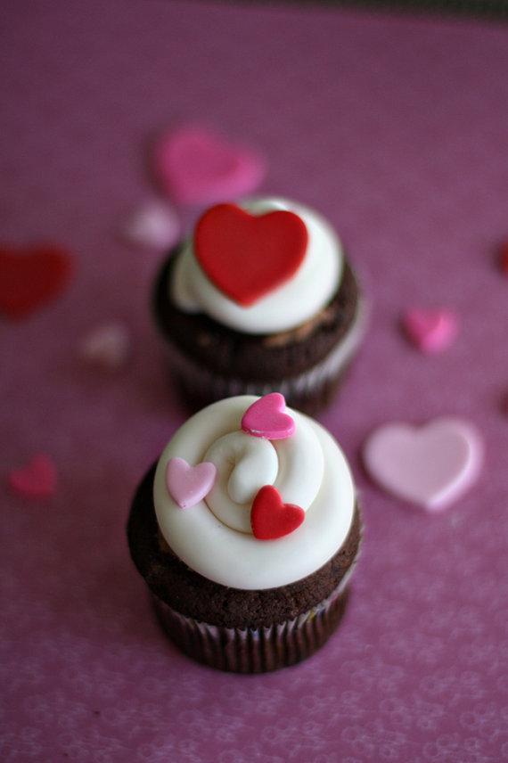 Fondant Valentine's Cookies