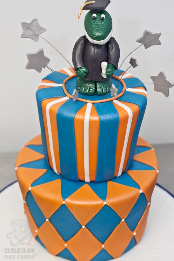 Gator Graduation Cake