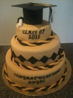 Graduation Chocolate Sheet Cake