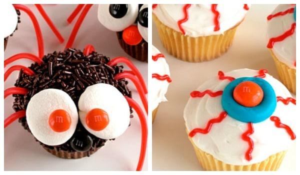 9 Photos of Preschool Halloween Cupcakes Cute