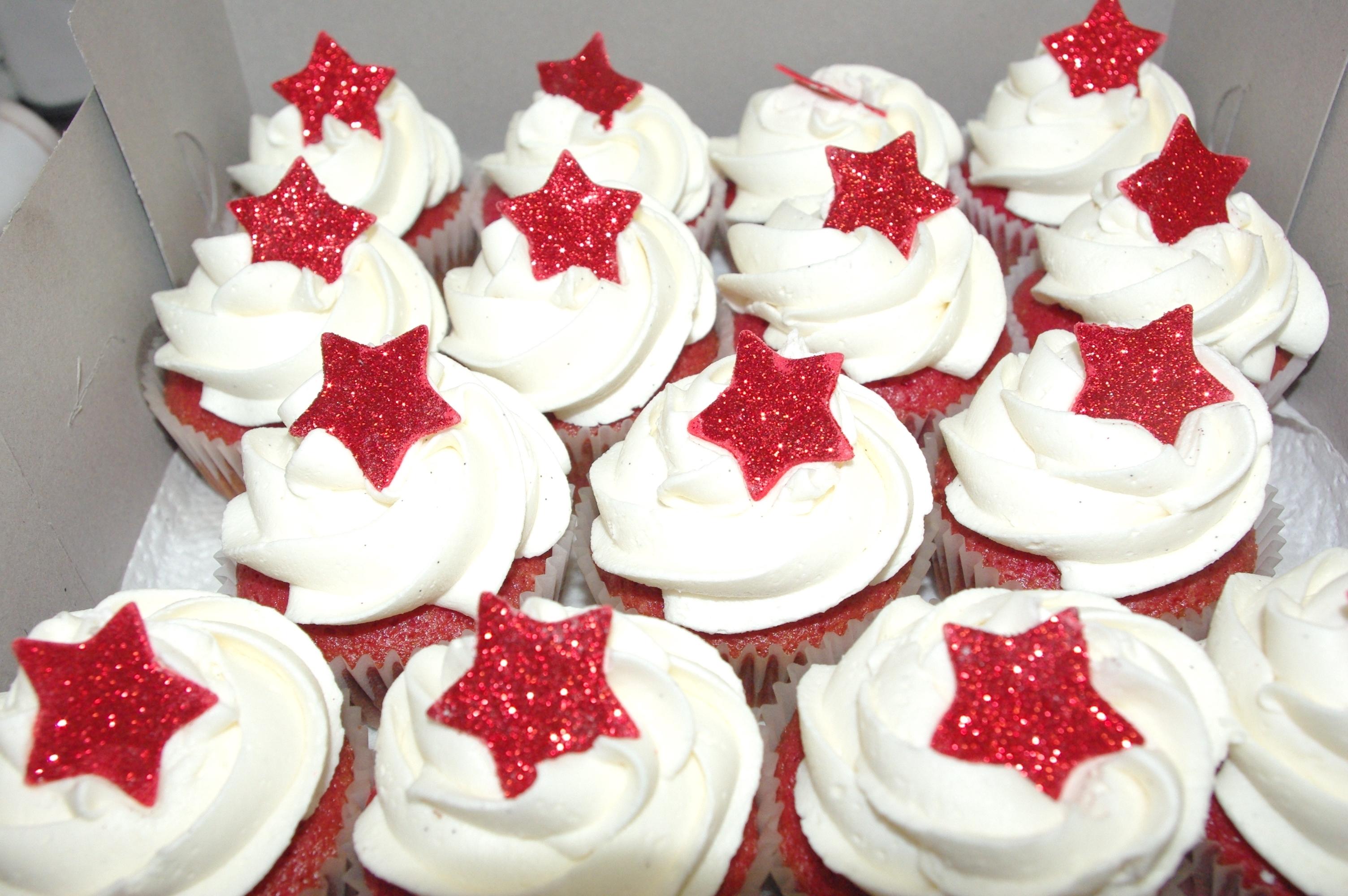 Hollywood Star Cupcakes