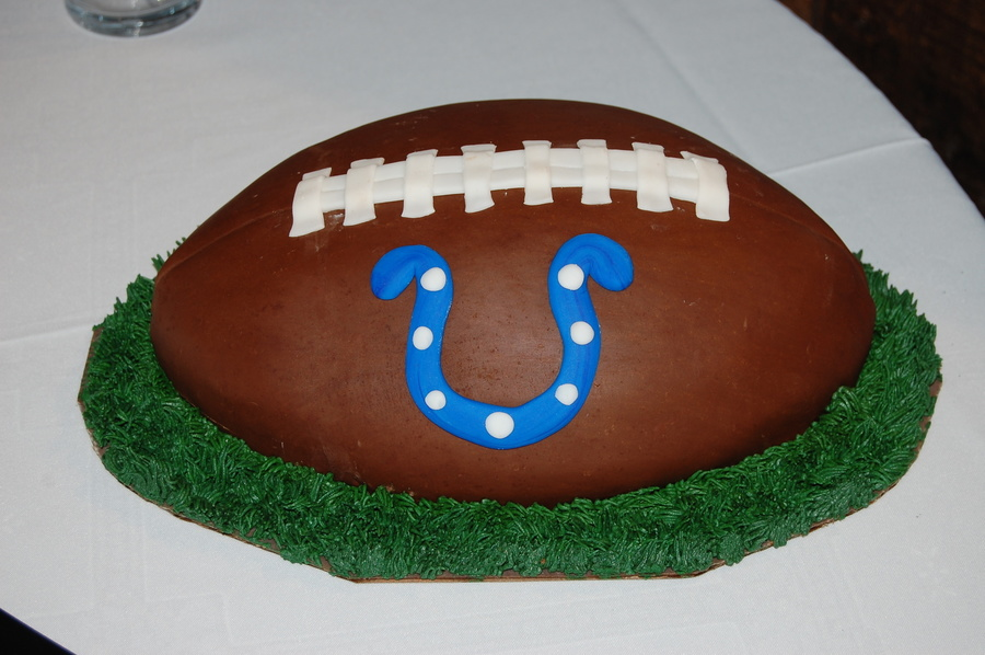 Indianapolis Colts Grooms Cake