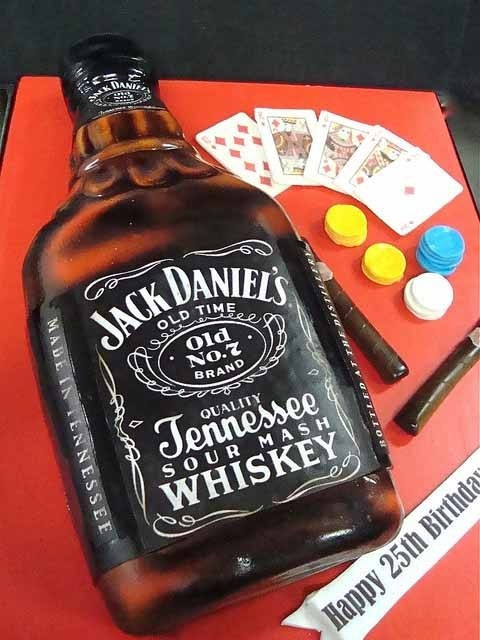 Jack Daniel's Cake Design