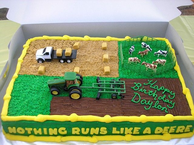 10 Photos of John Deere Cakes For Men