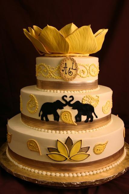 Pleasing 13 Thai Themed Wedding Cakes Photo Thai Inspired Cake Konditor Funny Birthday Cards Online Overcheapnameinfo