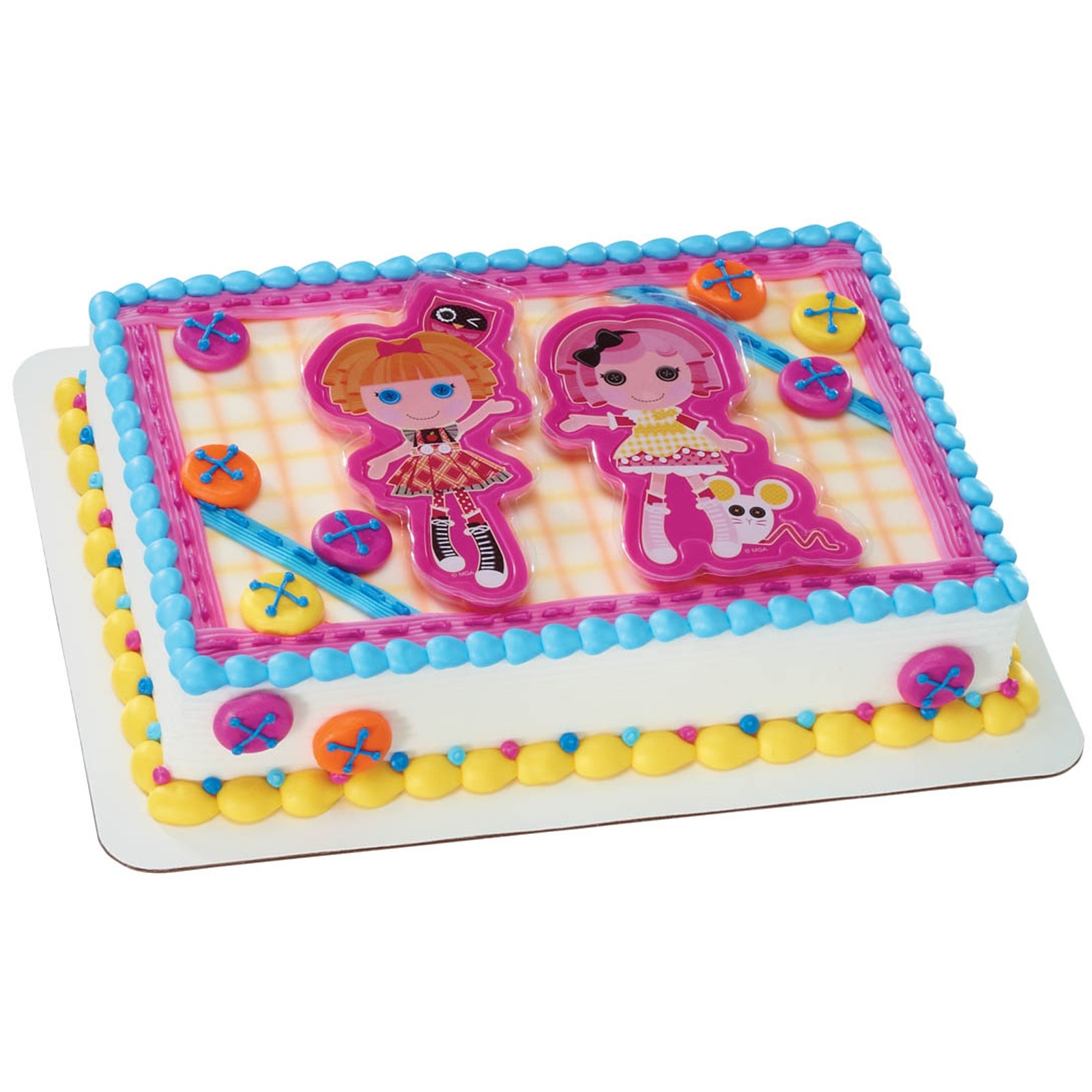 Lalaloopsy Birthday Cake Topper