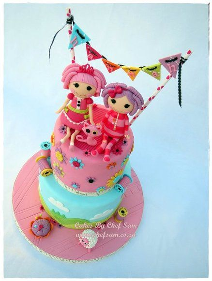 8 Photos of Lalaloopsy Princess Cakes
