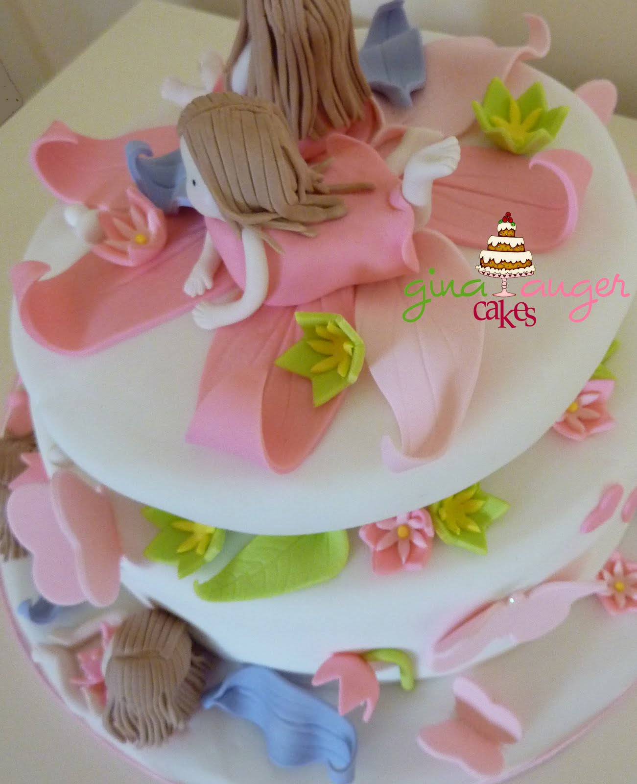 Little Girls Birthday Cake