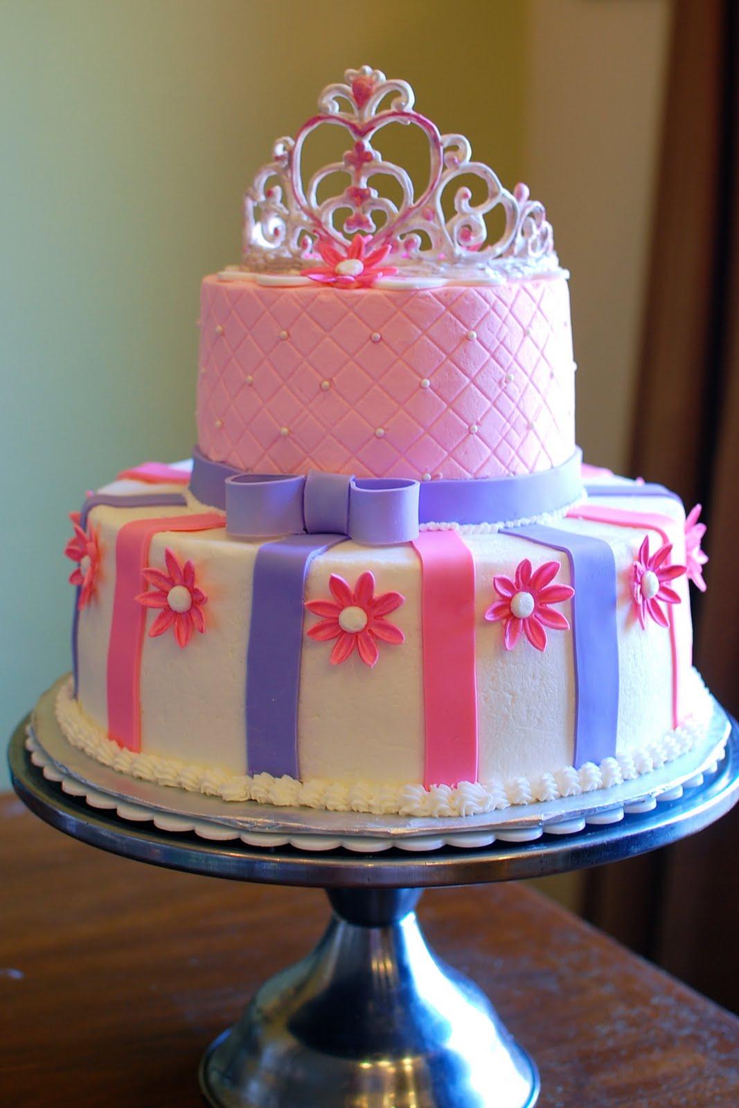 Little Pink Princess Cake for Girl