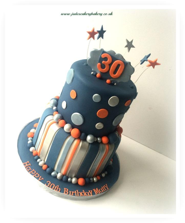Man 30th Birthday Cake