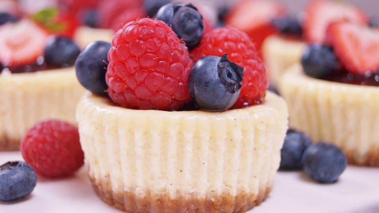 Mini Cheesecake Cupcakes Recipe