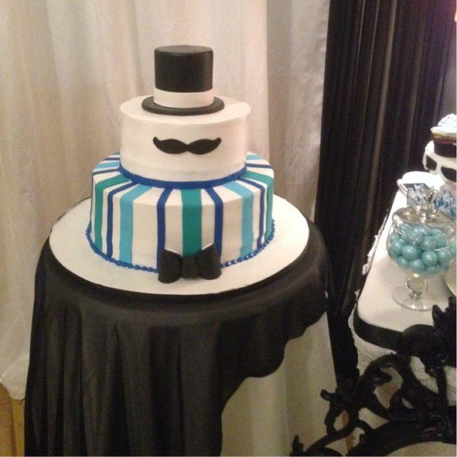 Mustache Birthday Cake Ideas