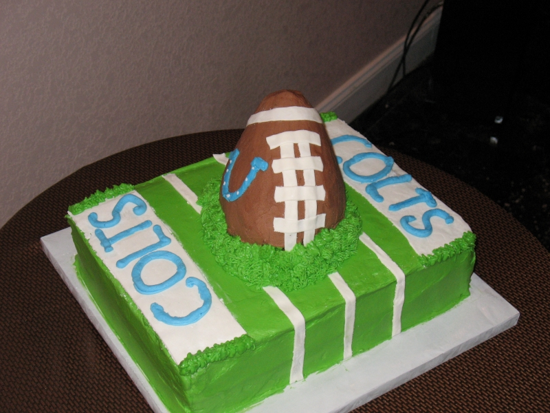 New Orleans Saints Grooms Cake