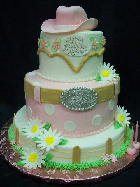 12 Photos of Western Themed Cakes For Teen Girls