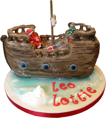 Pirate Ship Christmas Lights