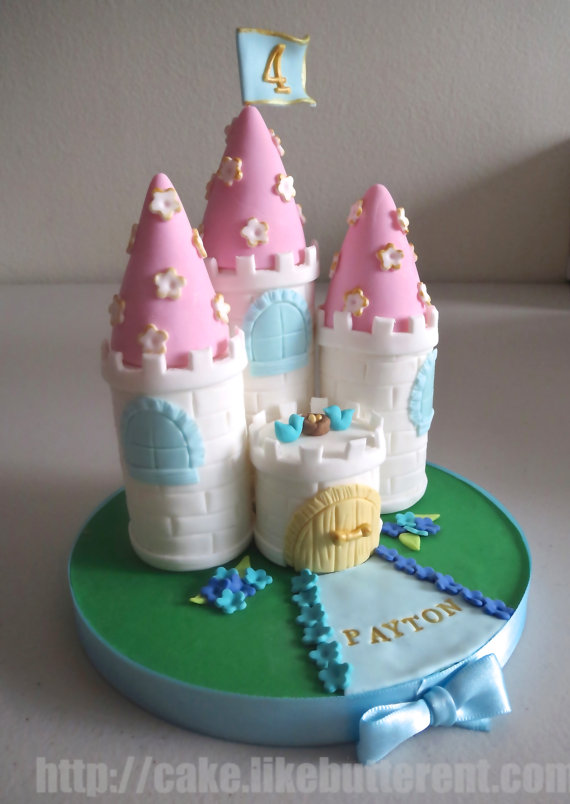 Princess Castle Cake Topper