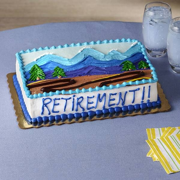 6 Publix Bakery Retirement Cakes Photo - Field and Stream