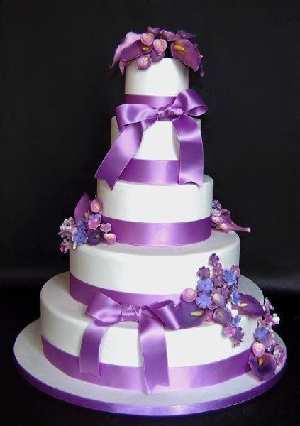 9 Photos of Calla Lily Wedding Cakes Publix