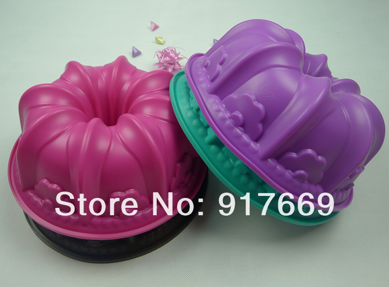 Silicone Bundt Cake Pan Mold