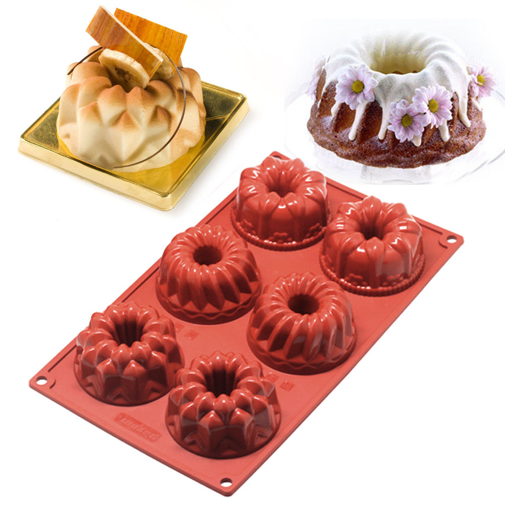 Silicone Mini Bundt Cake Pan