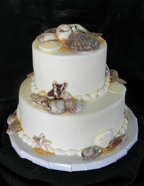 10 Photos of Small Beach Wedding Cakes Buttercream