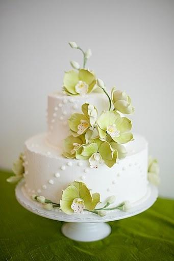 7 Photos of Mini Wedding Cakes Orchid