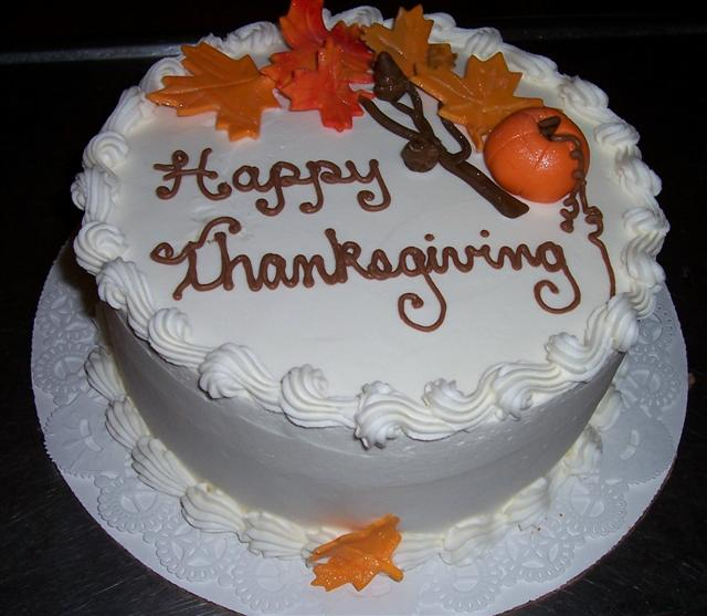 Thanksgiving Cake Idea