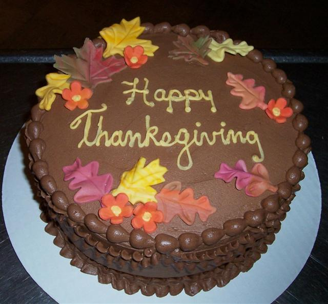 Thanksgiving Fondant Cake Ideas