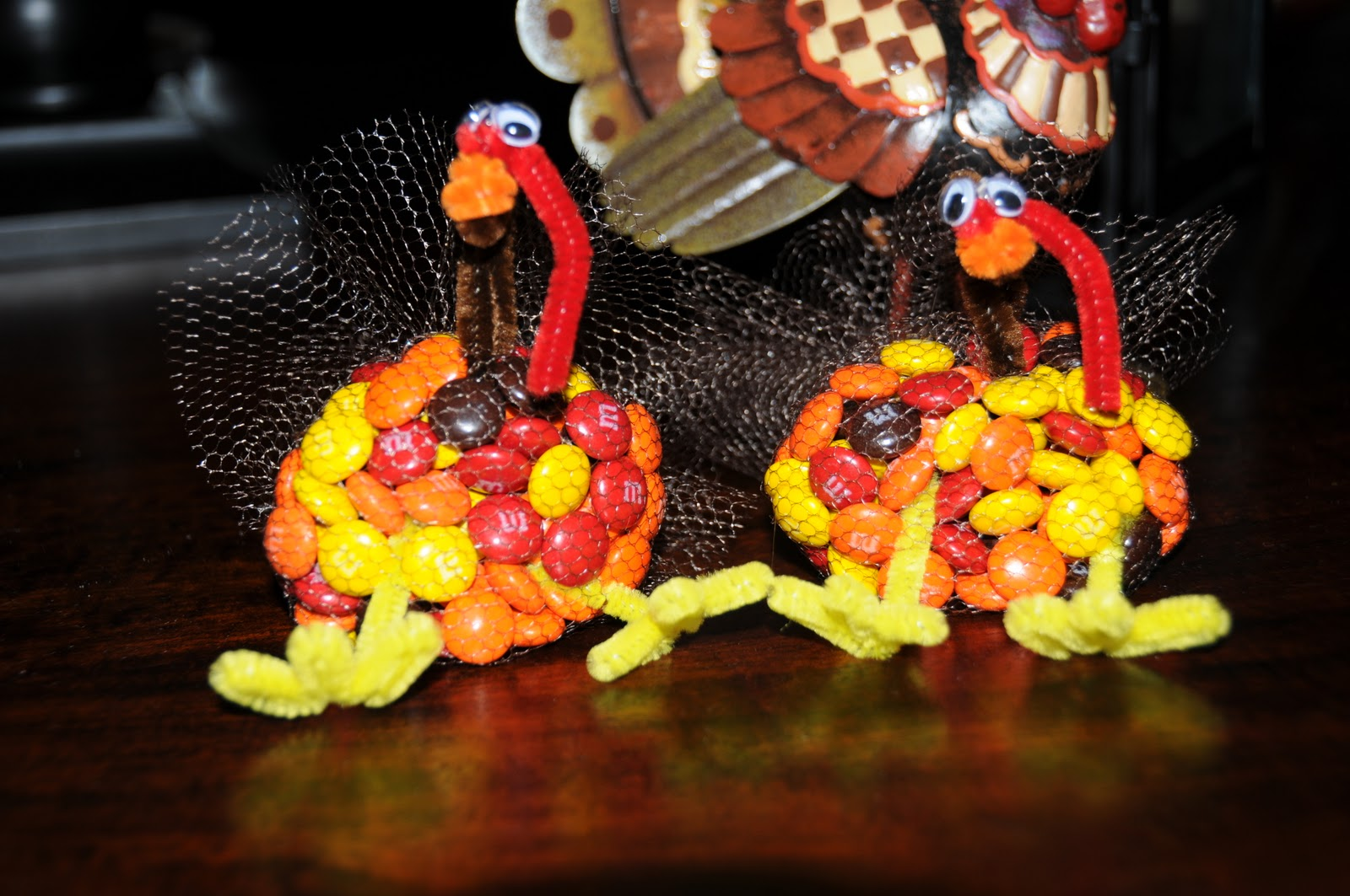 Thanksgiving mm Turkey Favors