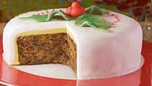 Traditional English Christmas Cake