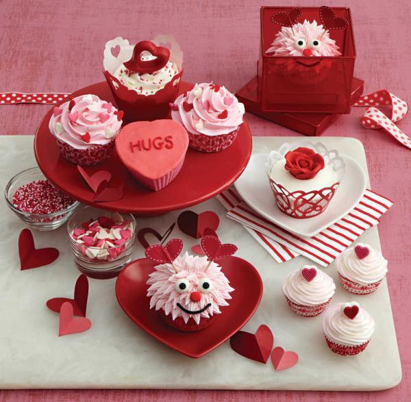Valentine's Red Velvet Cupcakes