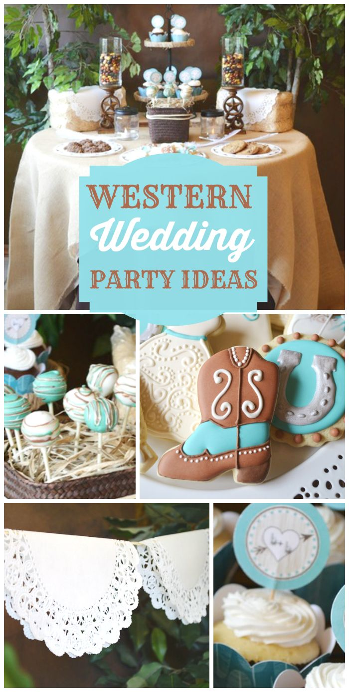 Western Bridal Shower Ideas