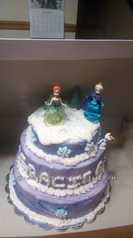3 Year Old Birthday Cake Frozen