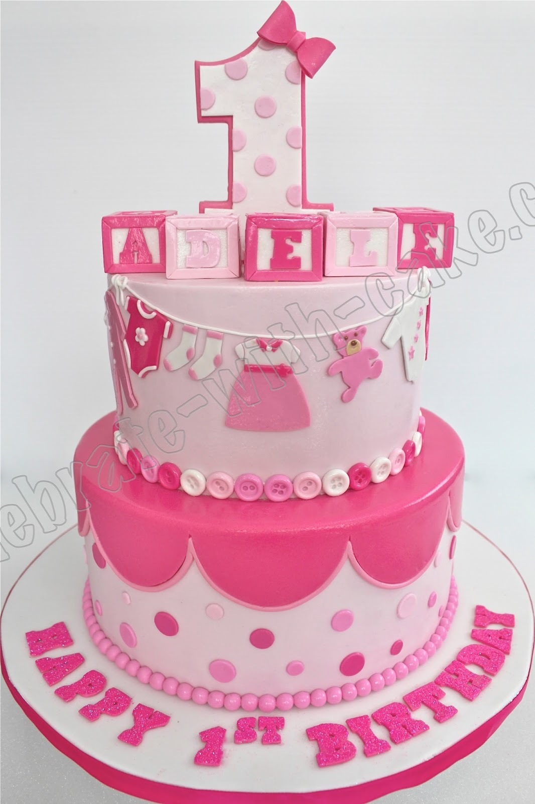 11 Cakes For Baby Girls 1st Bday Photo Baby Girl First Birthday