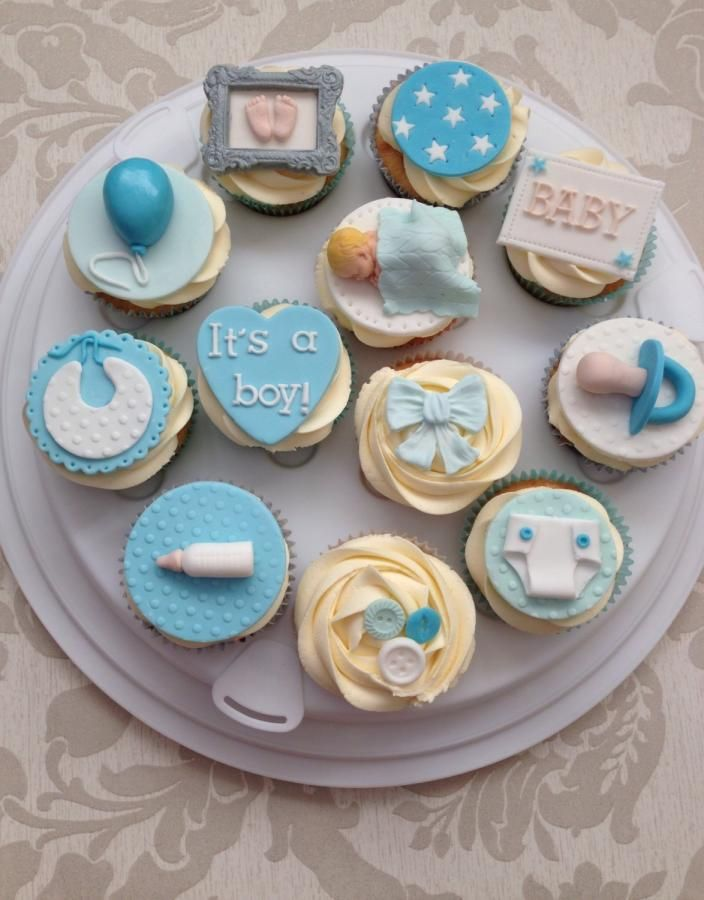 10 Photos of Shower Cupcakes For Baby Bou