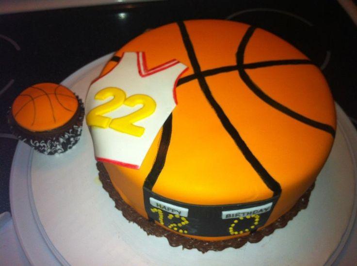Magnificent 10 Cartoon Boy Basketball Cakes Photo Basketball Birthday Cake Funny Birthday Cards Online Benoljebrpdamsfinfo