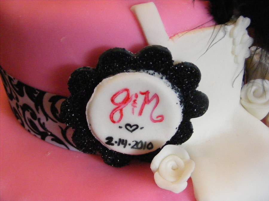 Bridal Shower Cake with Dress