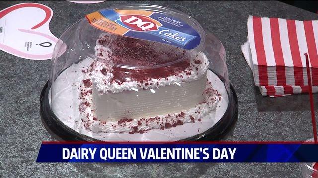 Dairy Queen Valentine Cakes
