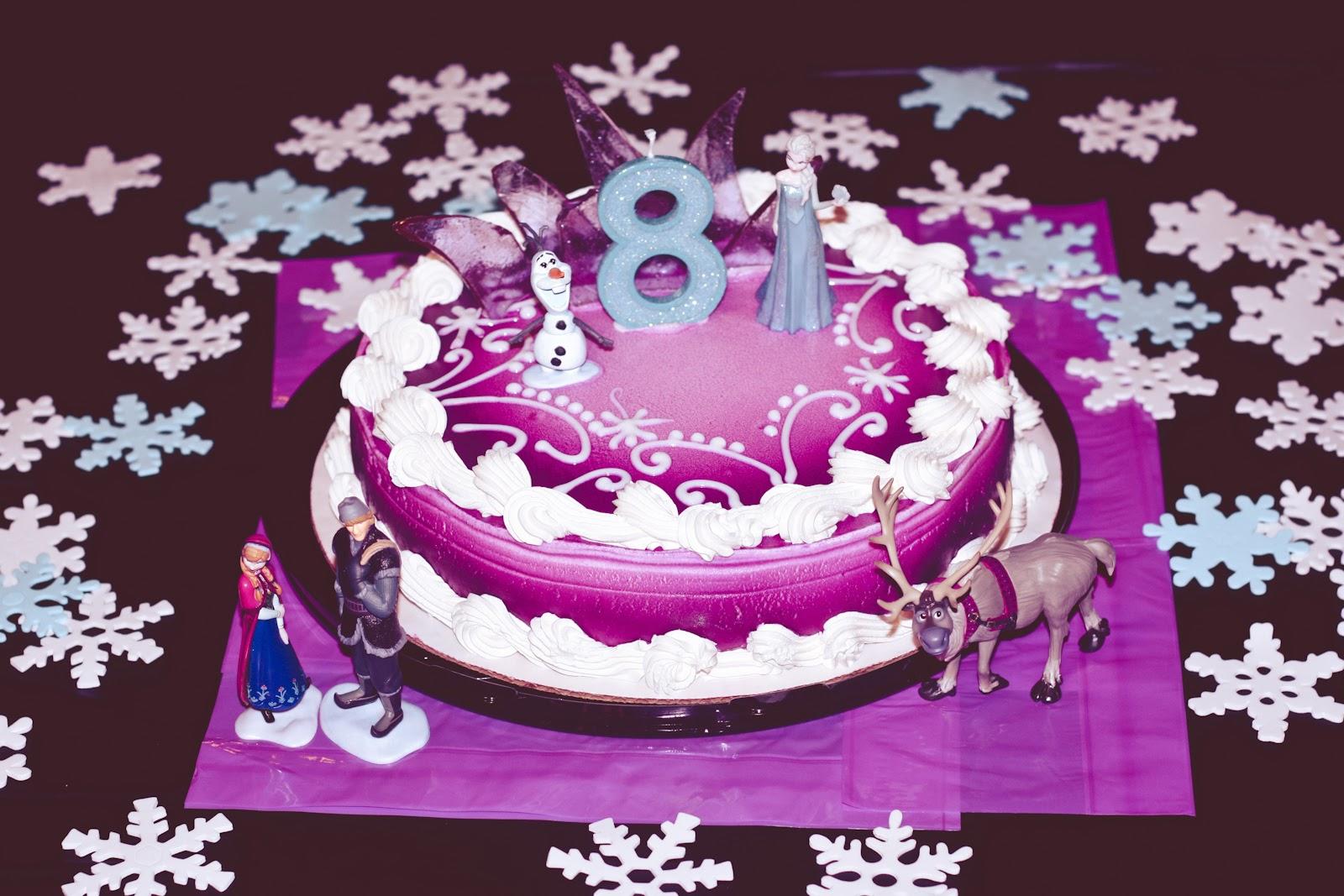 Disney Frozen Birthday Cake