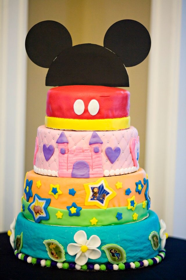 Disney-themed Wedding Cake