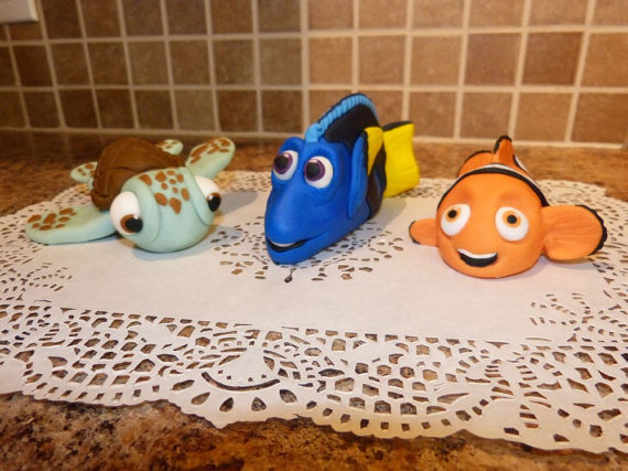 Dory Finding Nemo Cake Toppers