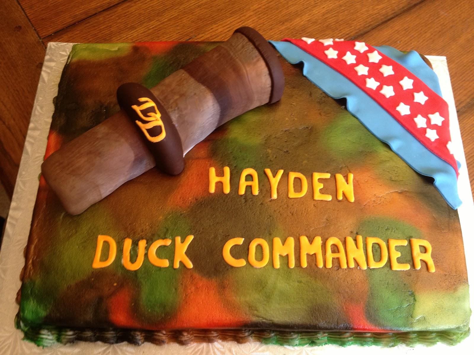 Duck Dynasty Birthday Cake Ideas