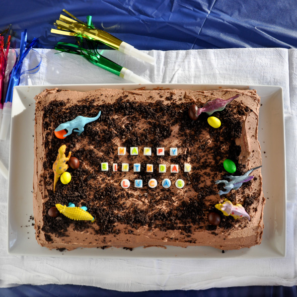Easy Boys Birthday Cake