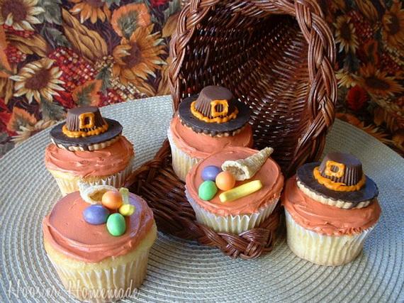 Easy Thanksgiving Cupcake Ideas
