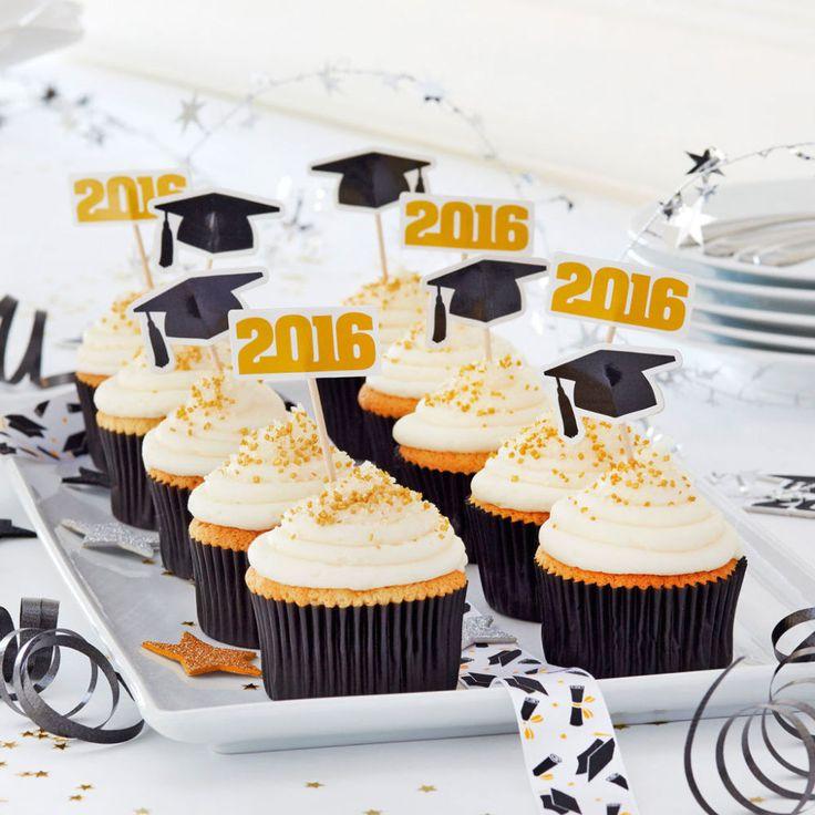 Graduation Cupcake Ideas